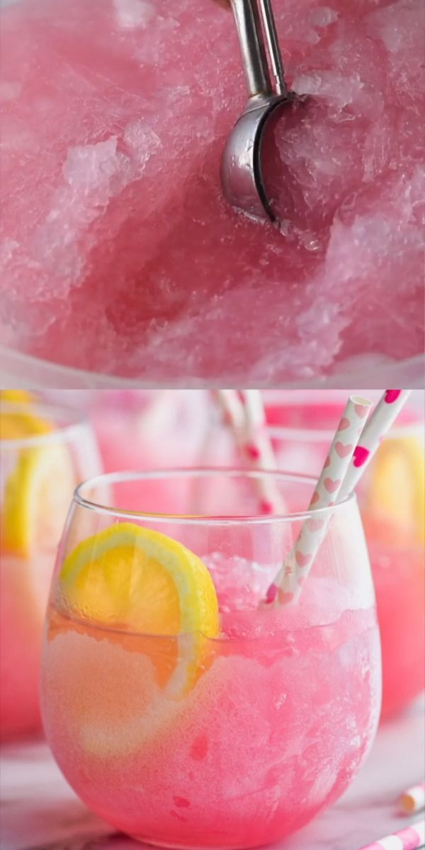 Three Ingredient Pink Party Punch