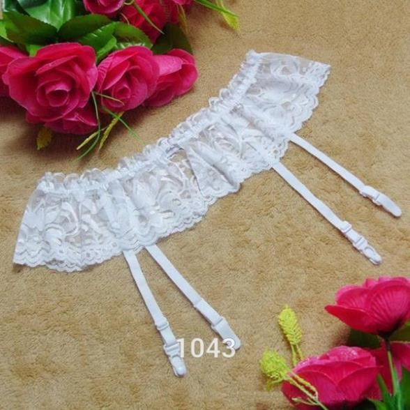 17cc9c07130 Women Garters Dual Layer Garter Belts 4 Color Thongs Lace Stocking  Suspender Sexy Lingeries Dual Layer Garter Belts