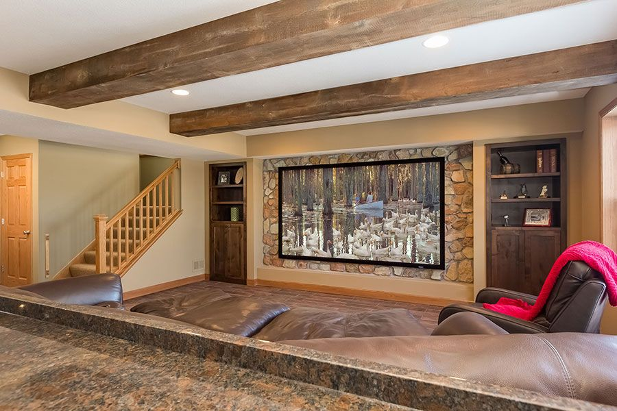 Home Remodeling Ideas Gallery: Basement - Home Theaters In 2019