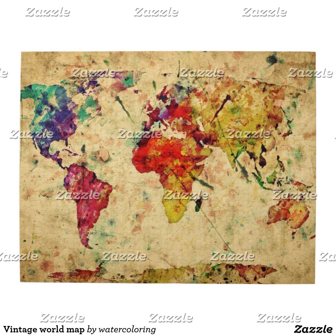 World map jigsaw puzzle vintage world map jigsaw puzzle gumiabroncs Image collections