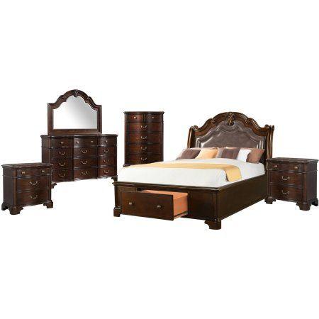 Picket House Furnishings Tomlyn Queen Storage 6PC Bedroom Set