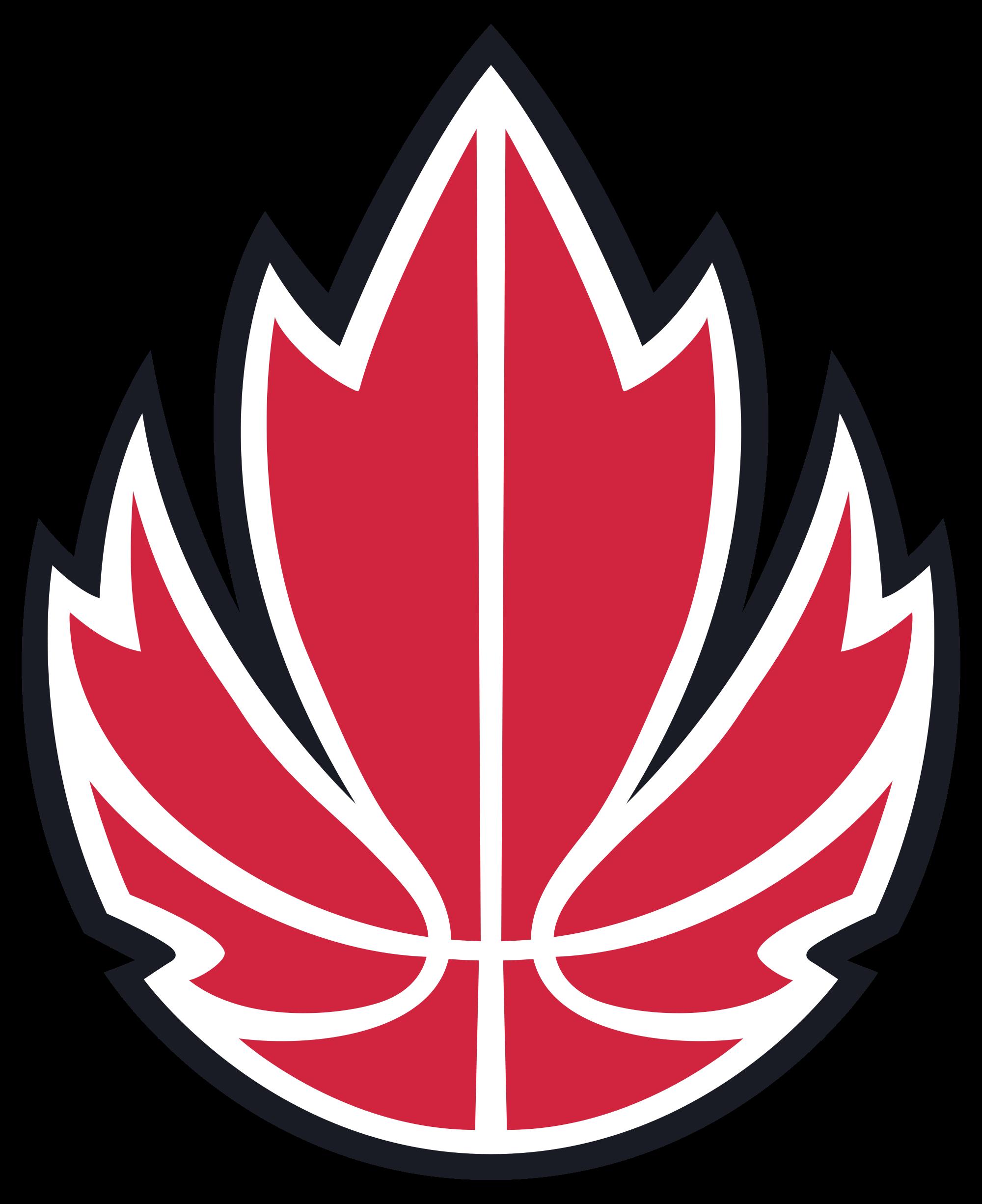 Canada National Basketball Team Diseño de logotipos