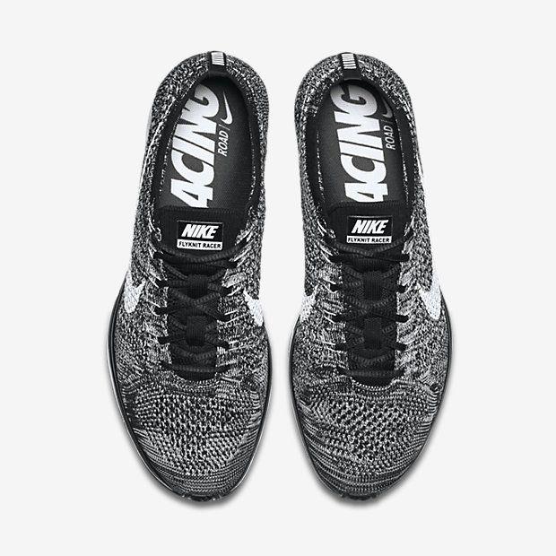 compra salida Corredor Nike Flyknit Tops Para Mujer En Blanco Y Negro salida mejores precios profesional compras fresco oW0KX0q