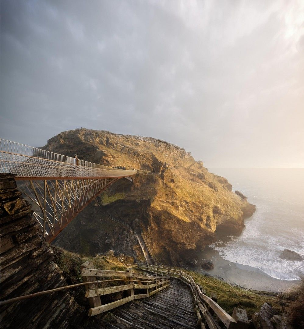 Tintagel Footbridge | William Matthews Associates