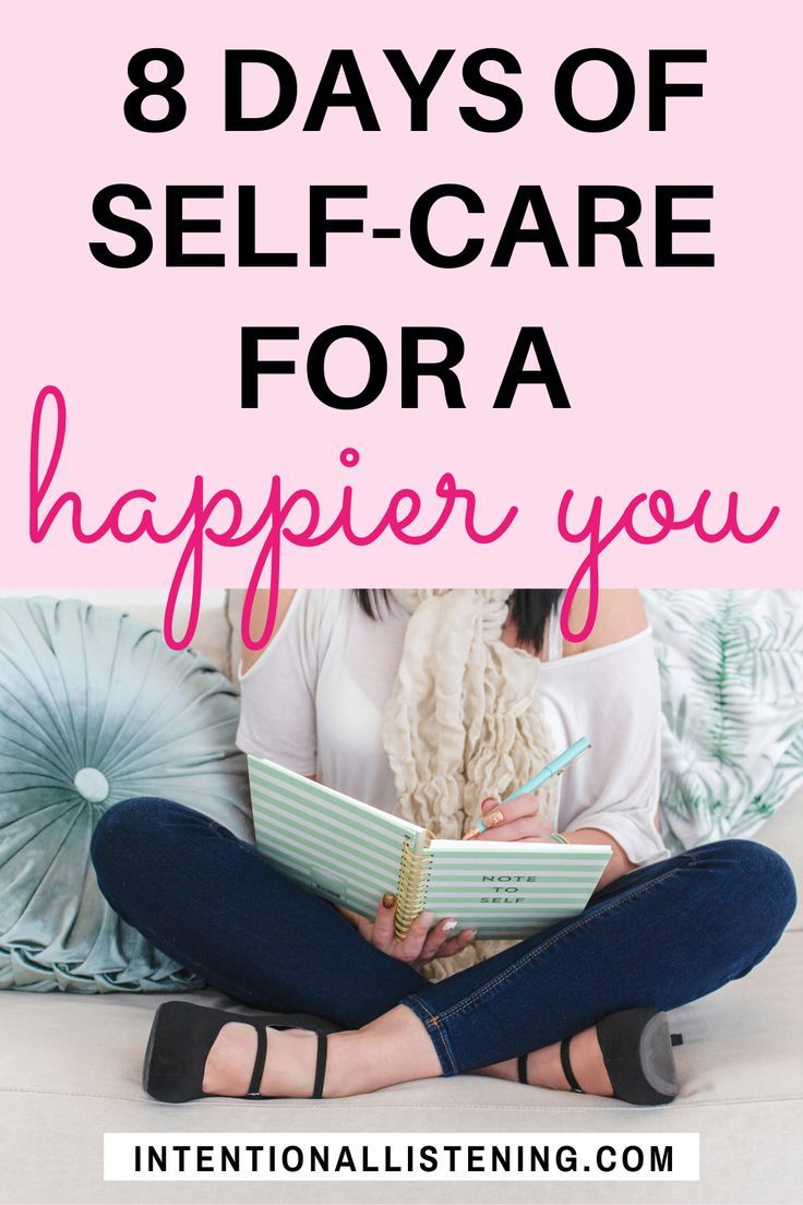 8 Day SelfCare Challenge For A Happier You! in 2020