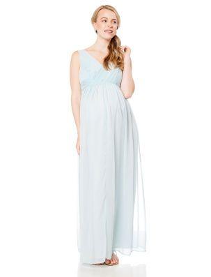 Jessica Simpson Maternity Dress Empire Waist Baby Blue | Maternity ...