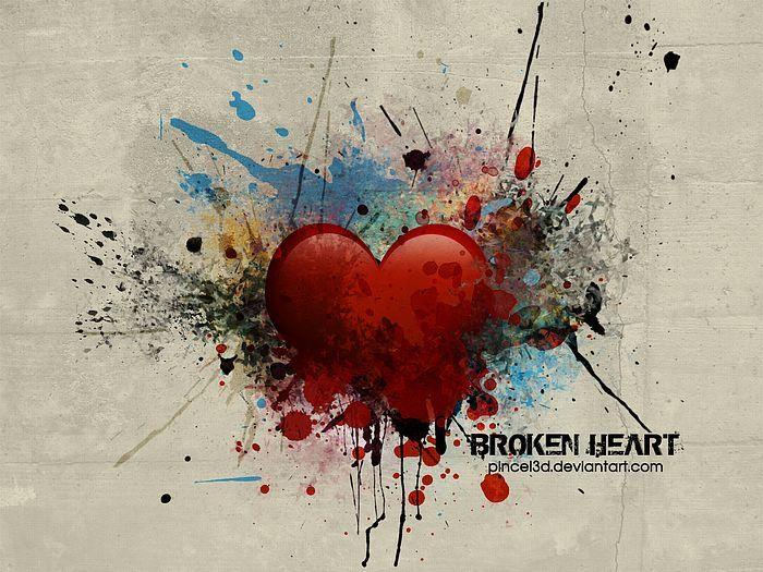 Love Heart Broken Wallpapers Broken Heart Wallpaper Broken Heart Art Broken Heart Tattoo
