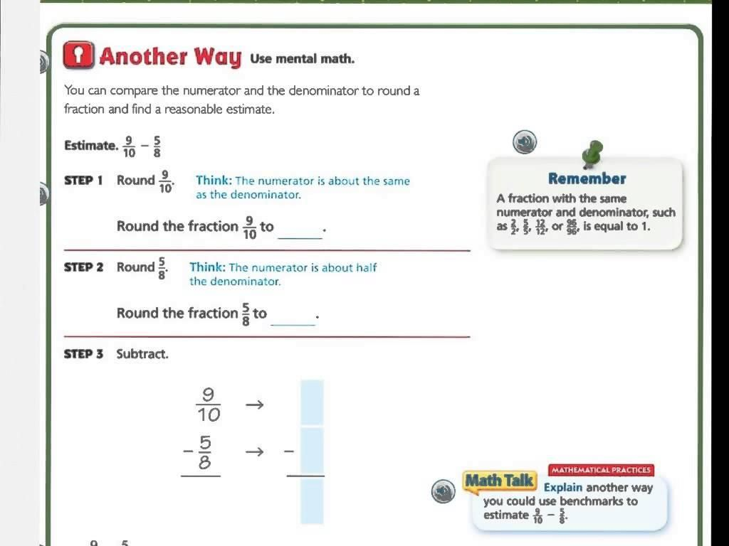 8 Go Math Grade 5 Printable Worksheets   Printable math worksheets [ 768 x 1024 Pixel ]