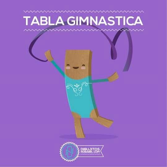 Tabla gimnastica