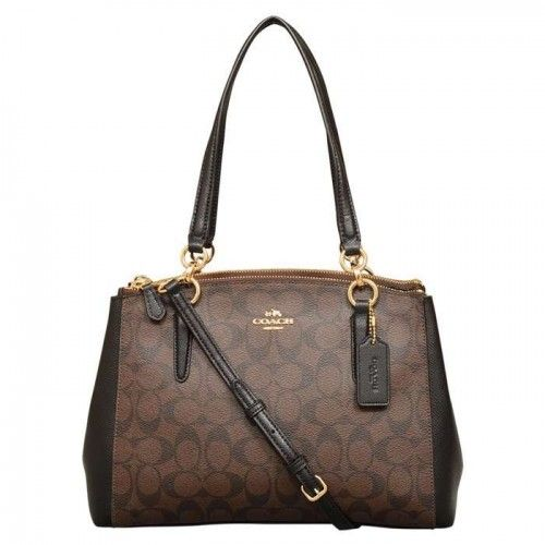Coach Signature Small Christie Carryall