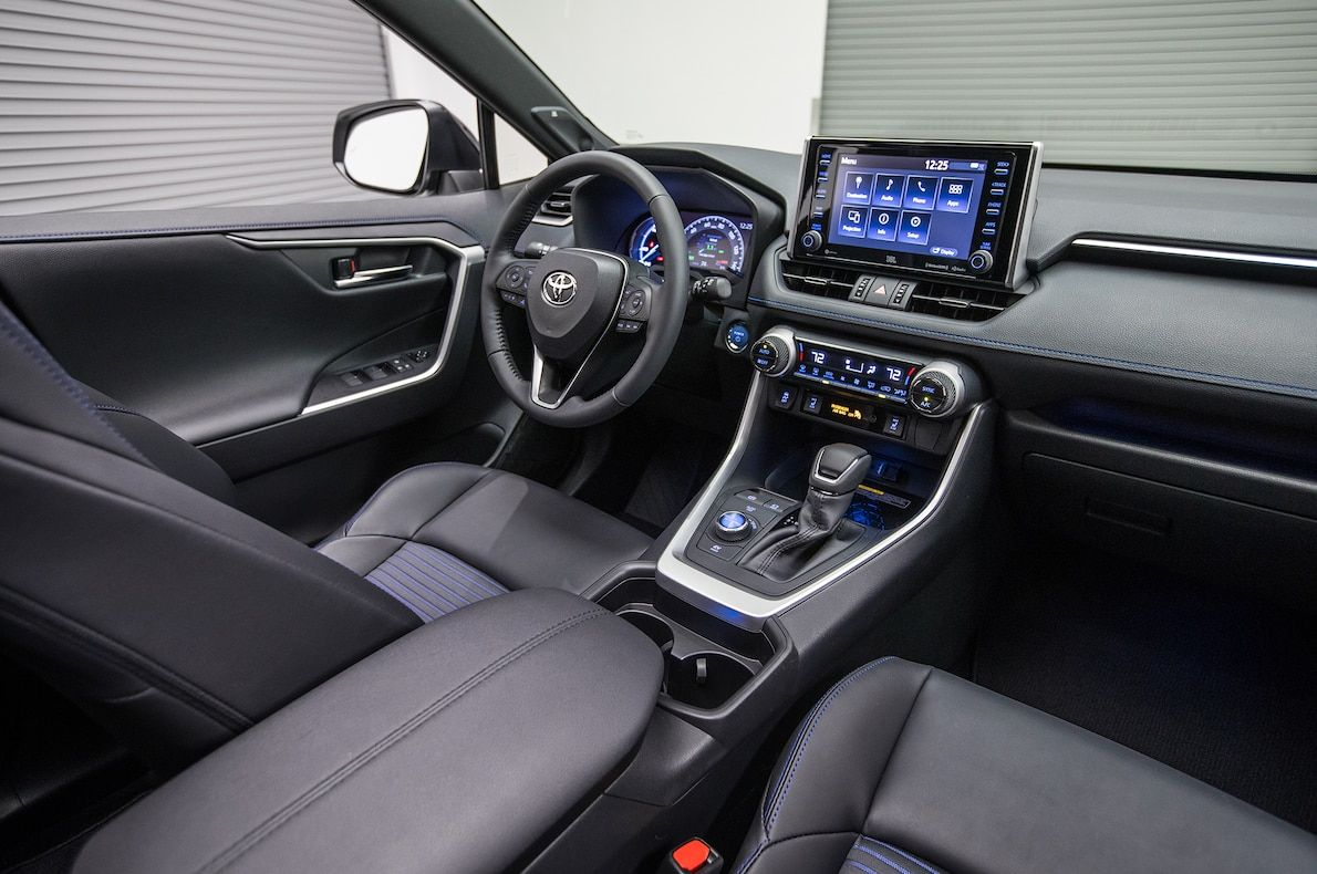 2019 Toyota Rav4 First Look New Look For The Suv Sales King In 2020 Rav4 Hybrid Toyota Rav4 Hybrid Toyota Rav4 Interior