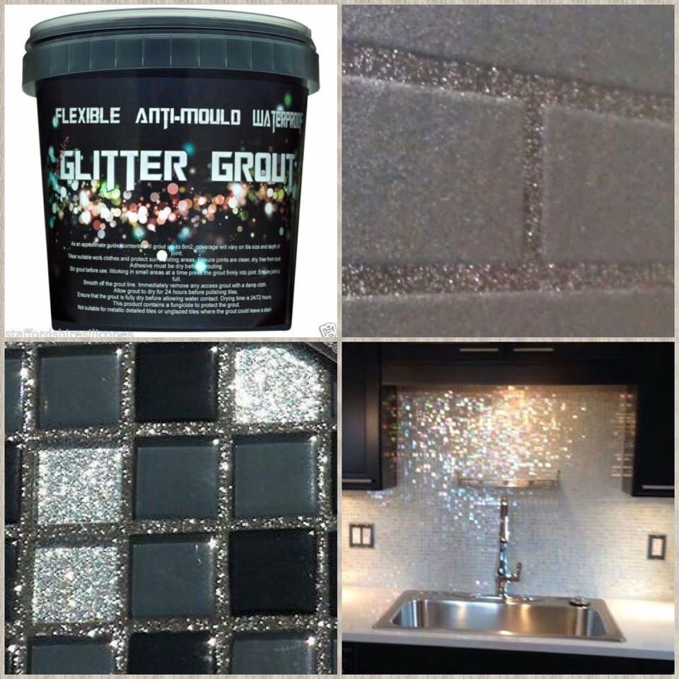 how to put glitter in paint