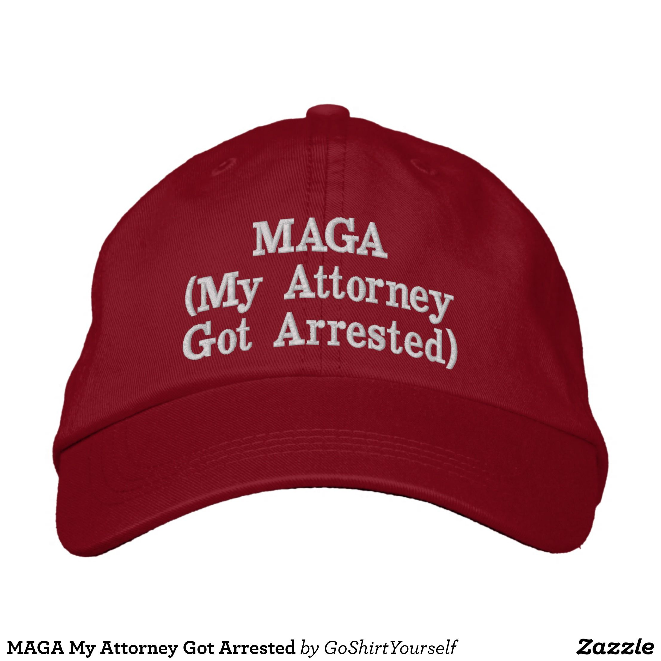New Trump Hat Make America Great Again MAGA Baseball Cap Hat RED Olive Branch