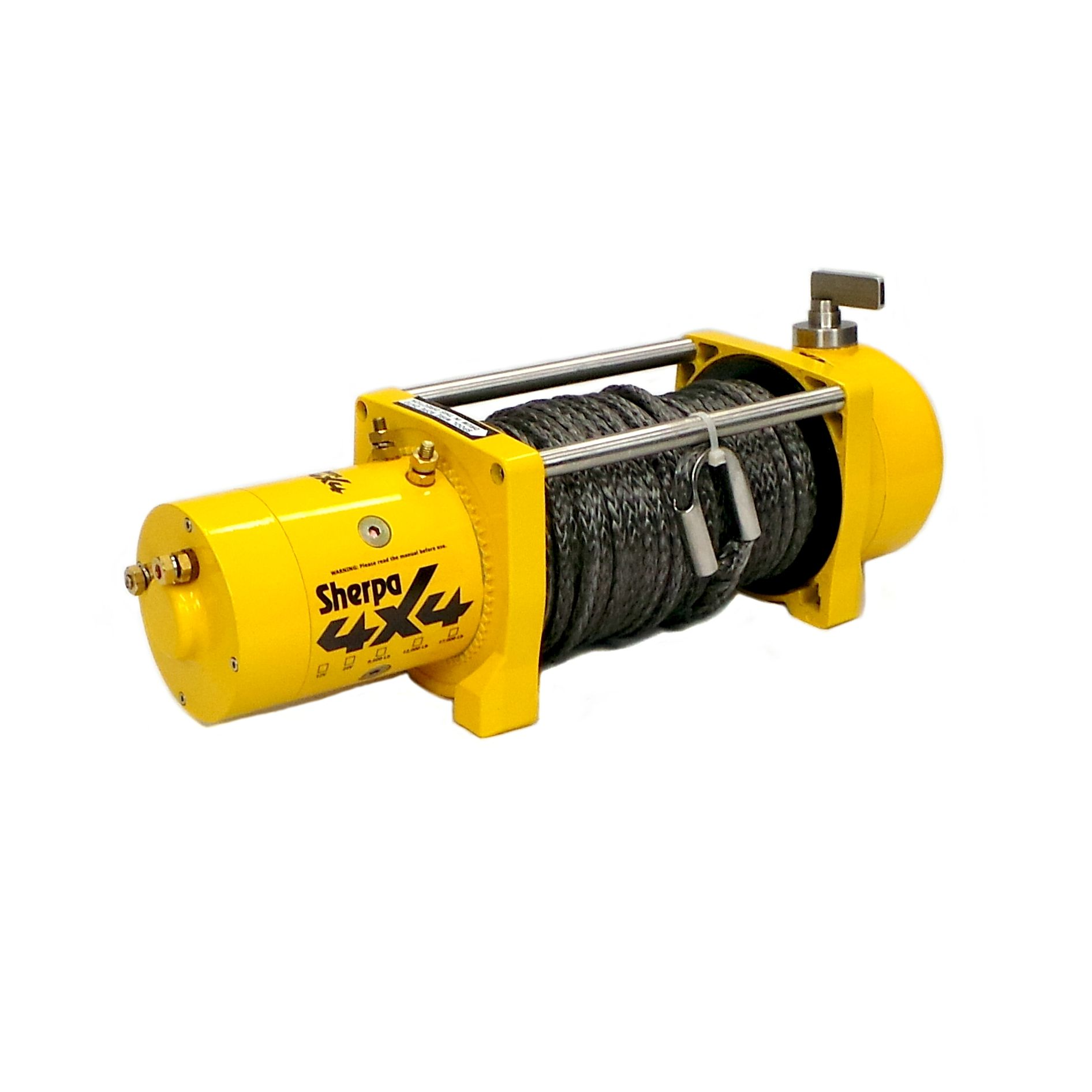 Sherpa 4x4 9500Lb Synthetic Rope Winch. 4wd 4x4 offroad
