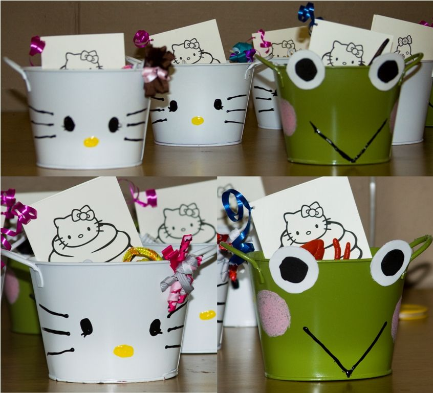 100 buckets from dollar tree painted to look like hk - Dollar Tree Coloring Books