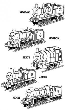 Thomas Tank Engine Train Kids Colouring Pictures To Print And Colour Coloring For Kids Free Coloring Pictures Coloring Pictures