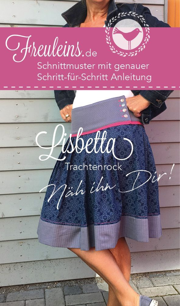 Sewing pattern traditional skirt Lisbetta Sewing pattern traditional skirt Lisbetta