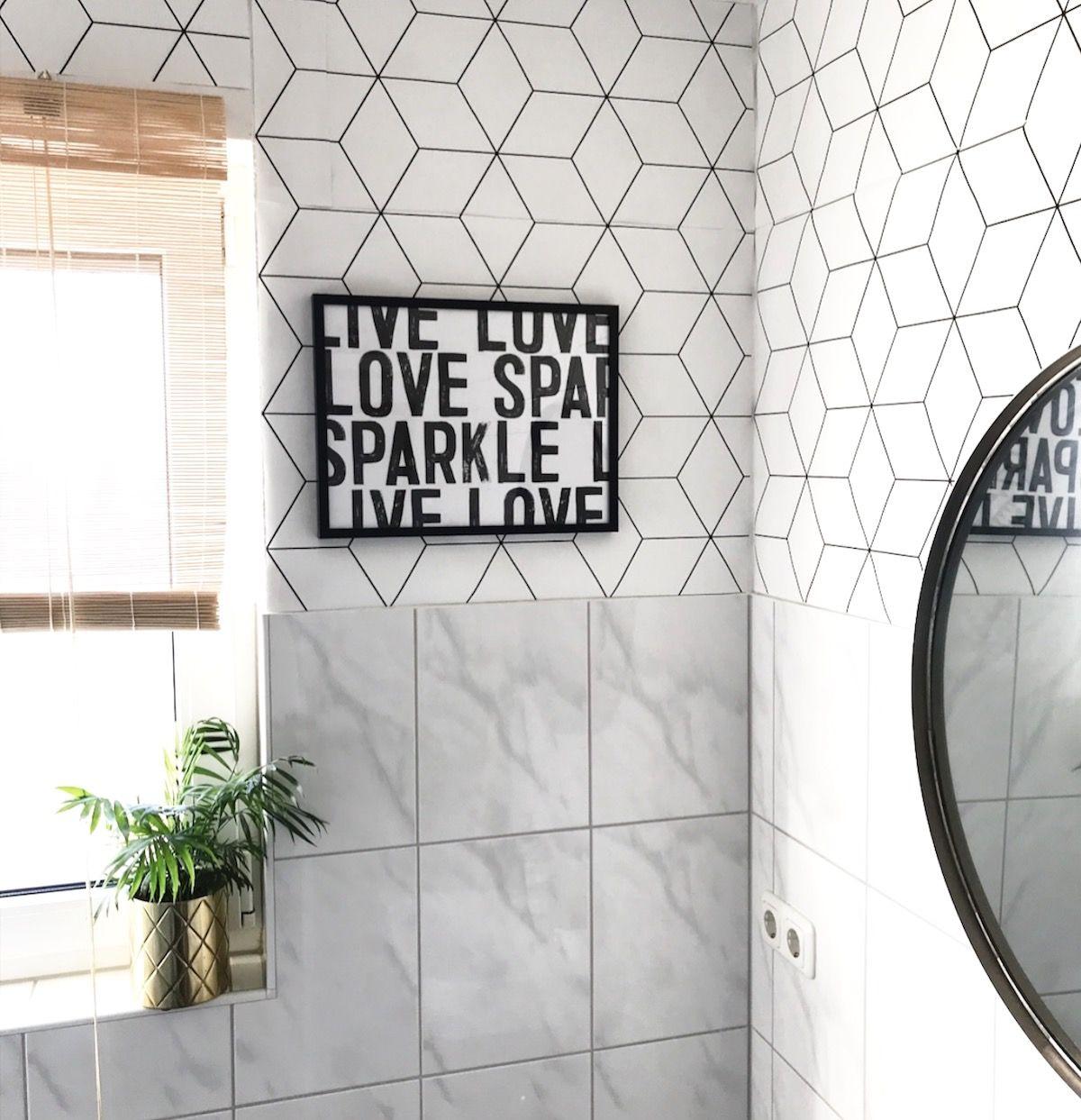 20 x Badezimmer Deko Ideen zur Inspiration  Badezimmer tapete