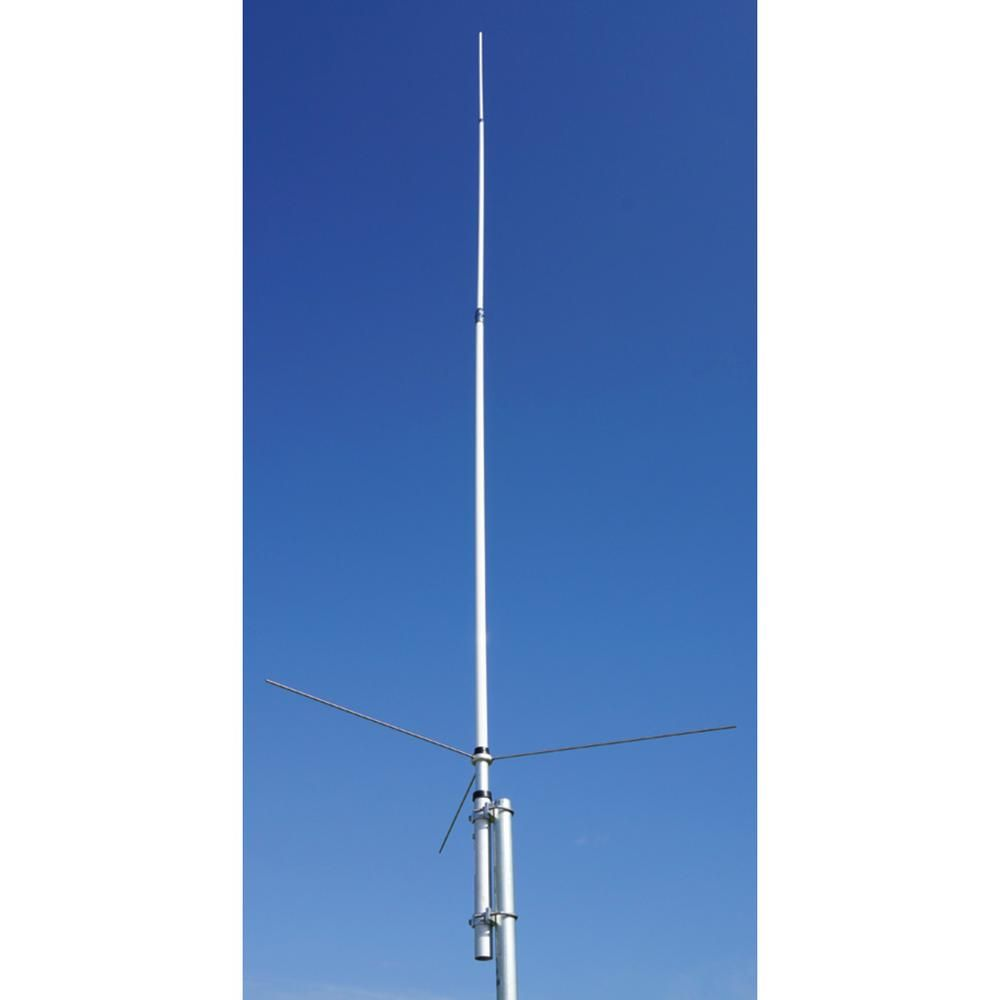 Hustler dul band base antenna are
