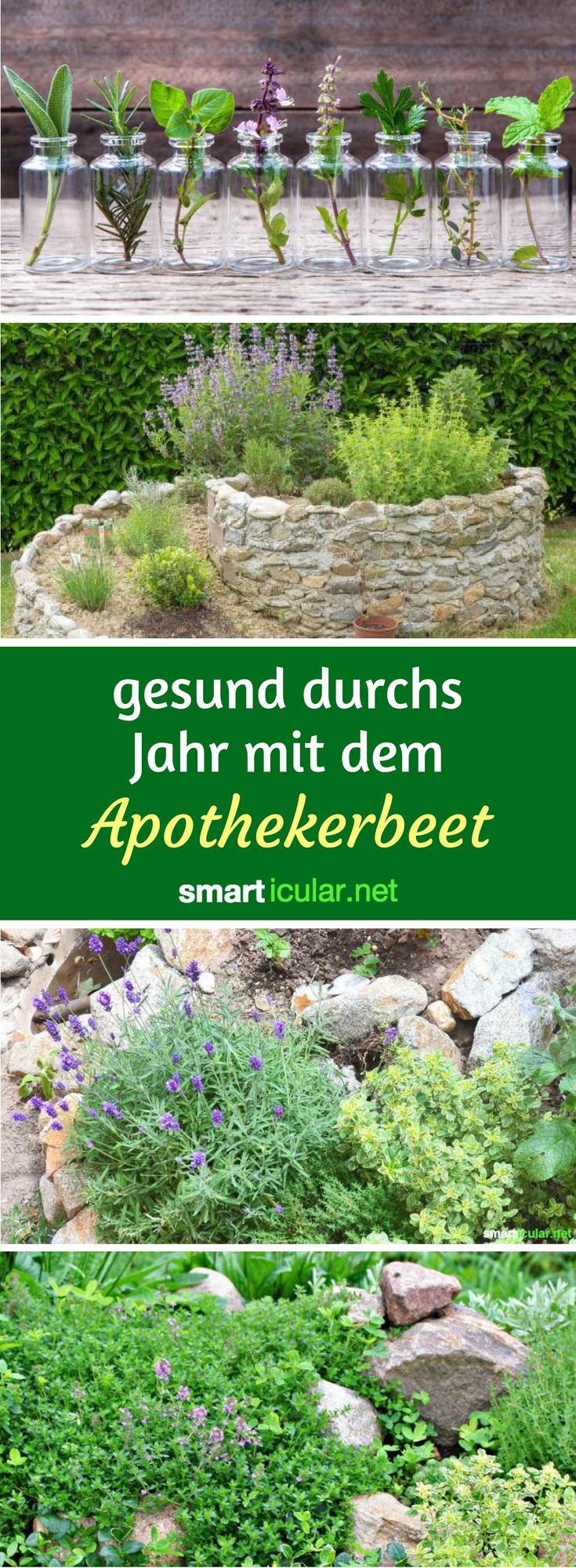 Naturlich Gesund Mit Dem Apotheker Beet Garden Ideas Diy Garten