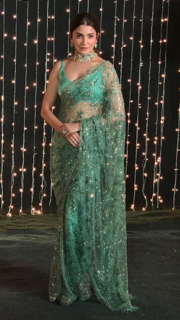 Actress1gallery: Anushka sharma at priyanka nick reception ...