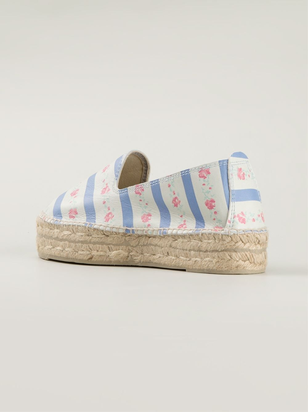 #maneby #espadrilles #flowers #liberty #prints #womens www.jofre.eu