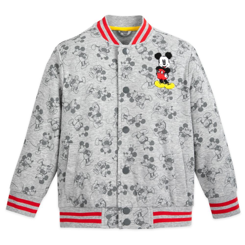 Mickey Mouse Bomber Jacket For Kids Shopdisney Bomber Jacket Jackets Disney Princess Jacket [ 1000 x 1000 Pixel ]