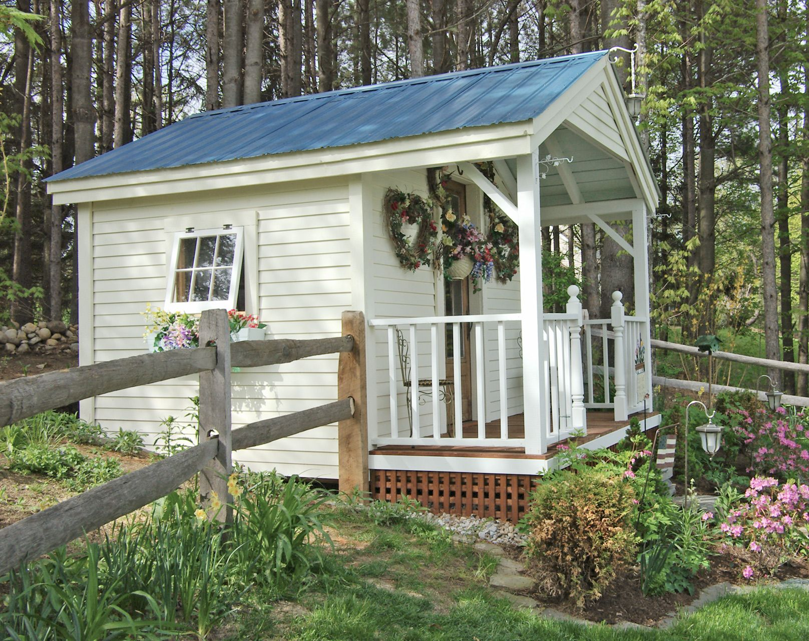 Pin On Garden Sheds Benches Raised Beds