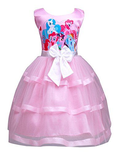 f8abbdaf8 LEMONBABY Little Girls My Little Pony Sleeveless Princess... | 3rd ...