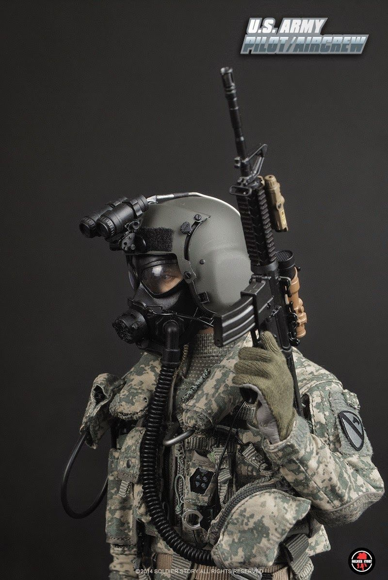 onesixthscalepictures: Soldier Story US ARMY PILOT / CREW ...