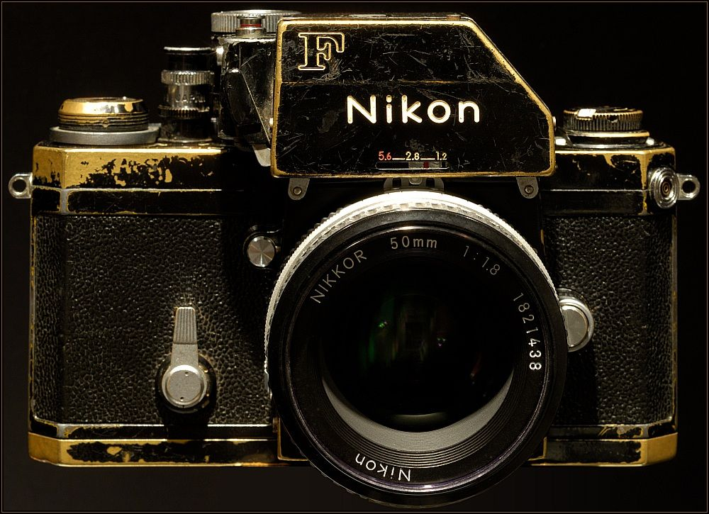 Nikon F - Photomic FTn-and if you worked for a living--this is what