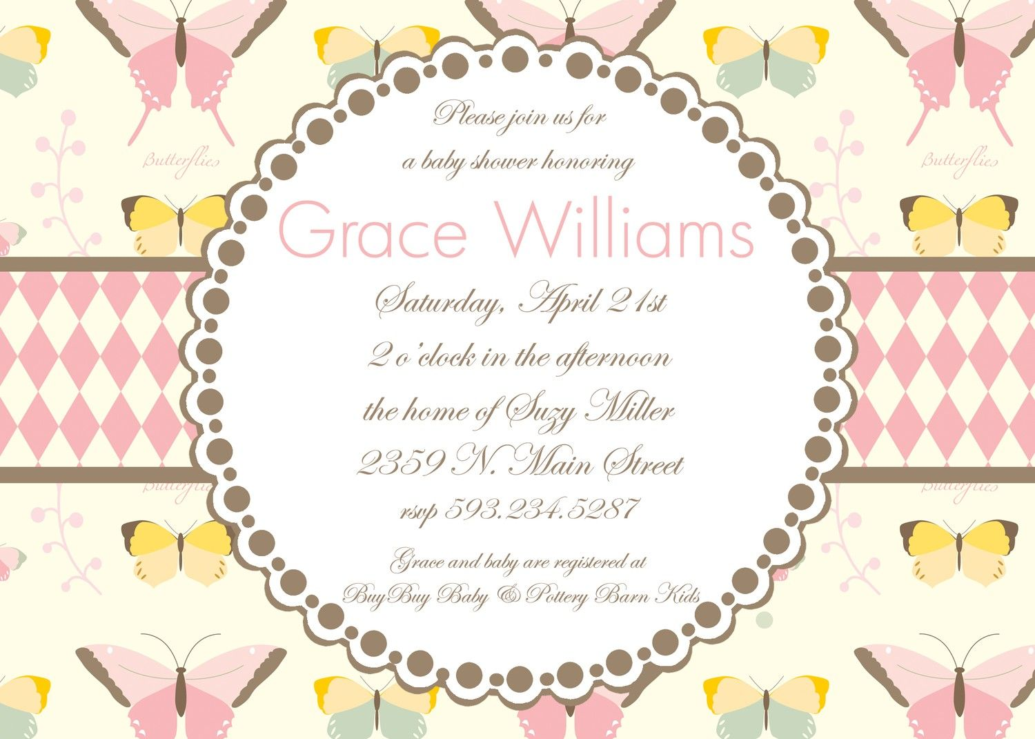 Image result for butterfly baby shower | Katie\'s baby shower ...