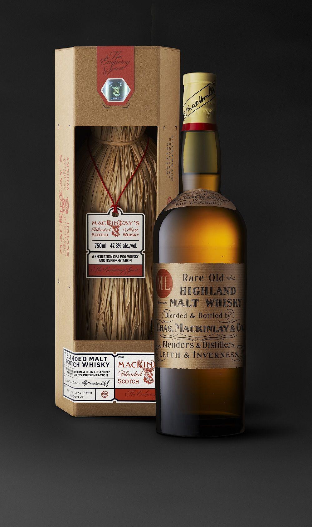 Mackinlay S Old Highland Malt Shackleton The Journey Fascinating  # Muebles Para Guardar Whisky