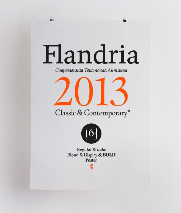 Flandria typeface: http://www.flandriatype.com/