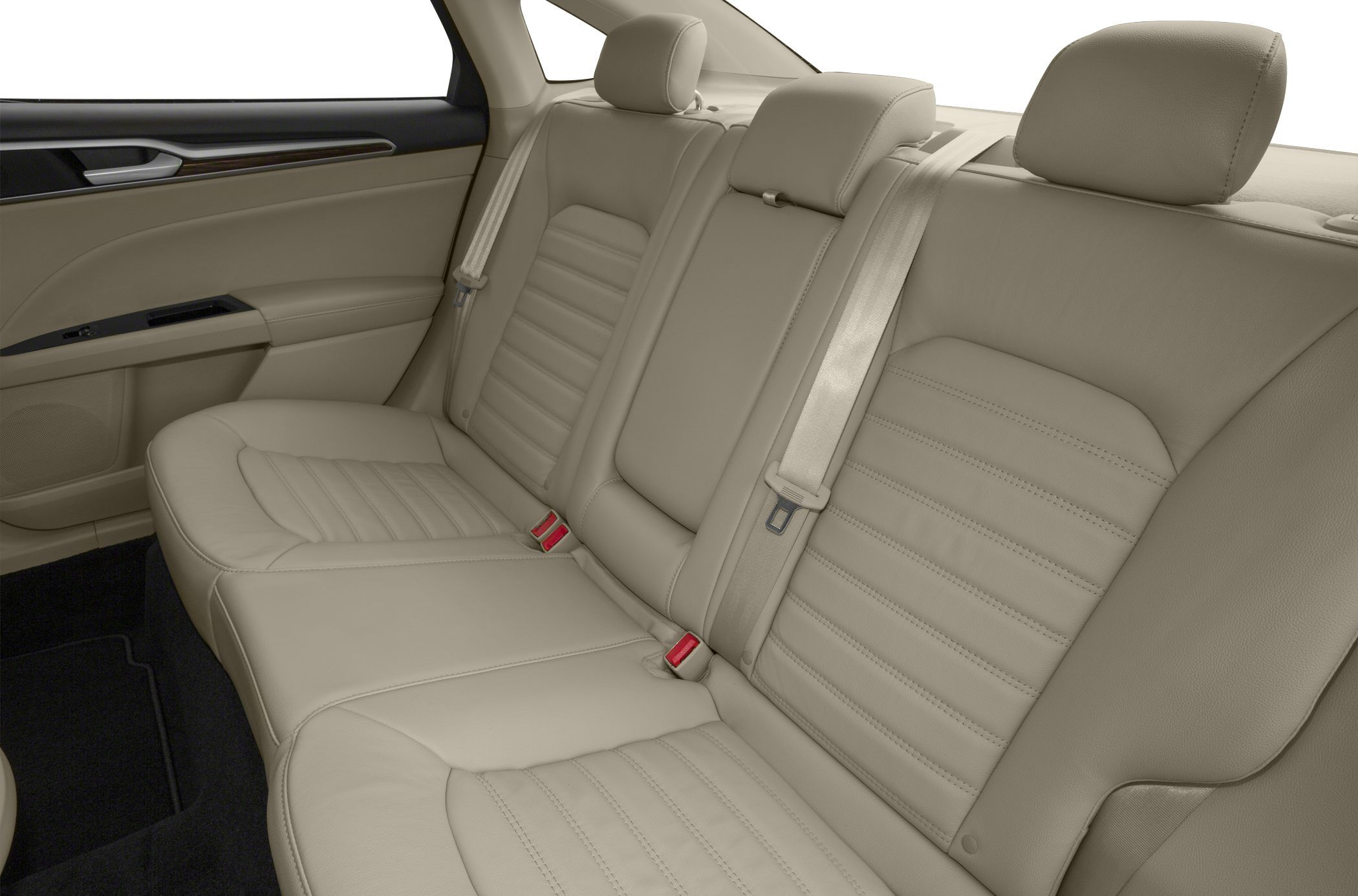 2017 Ford Fusion Hybrid S Rear Seat