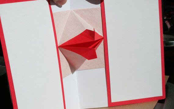 Pop-up kiss card