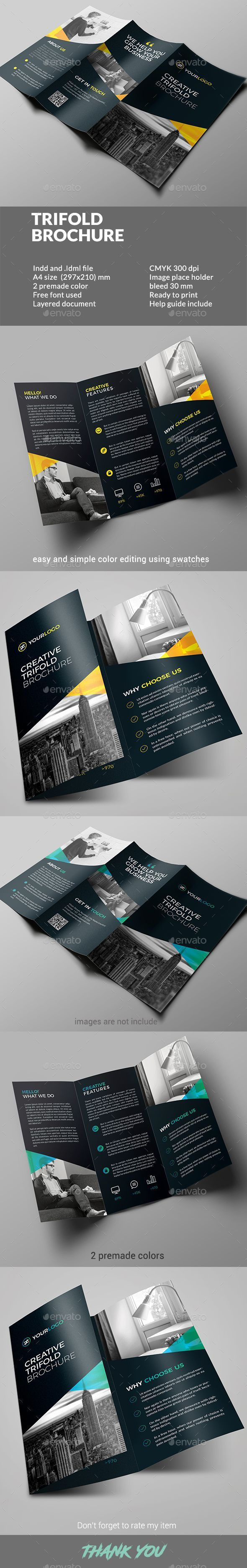 Trifold Brochure - Corporate #Brochures Download here