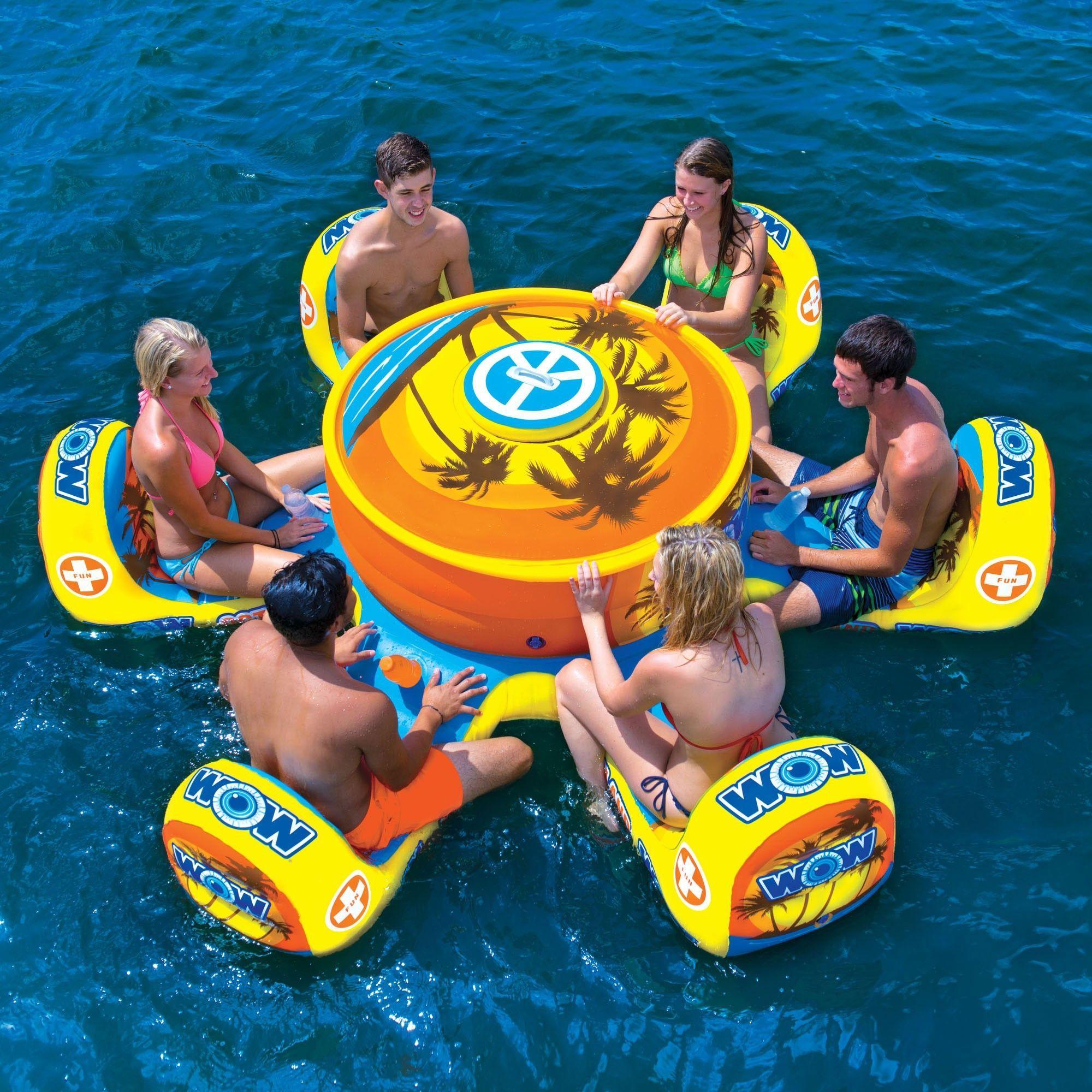 OCTO ISLAND   TWC Pools   Pinterest   Flotadores, Piscinas y ...