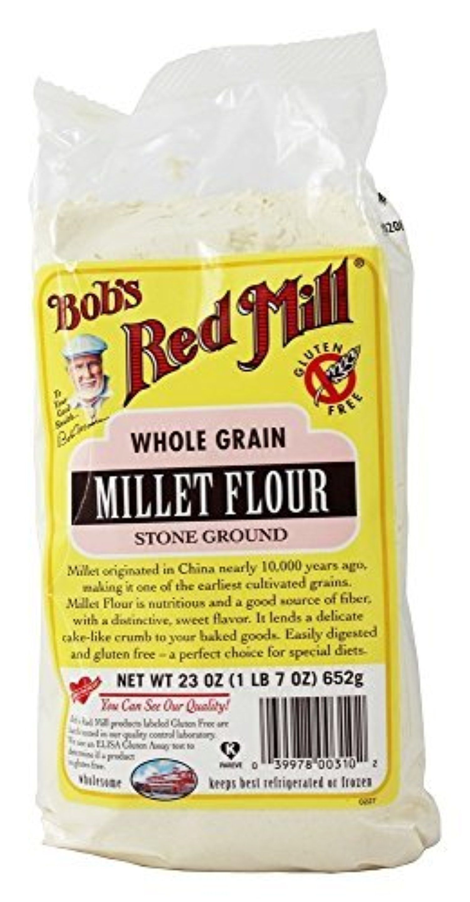 Bobs red mill gluten free millet flour 23 oz pack of