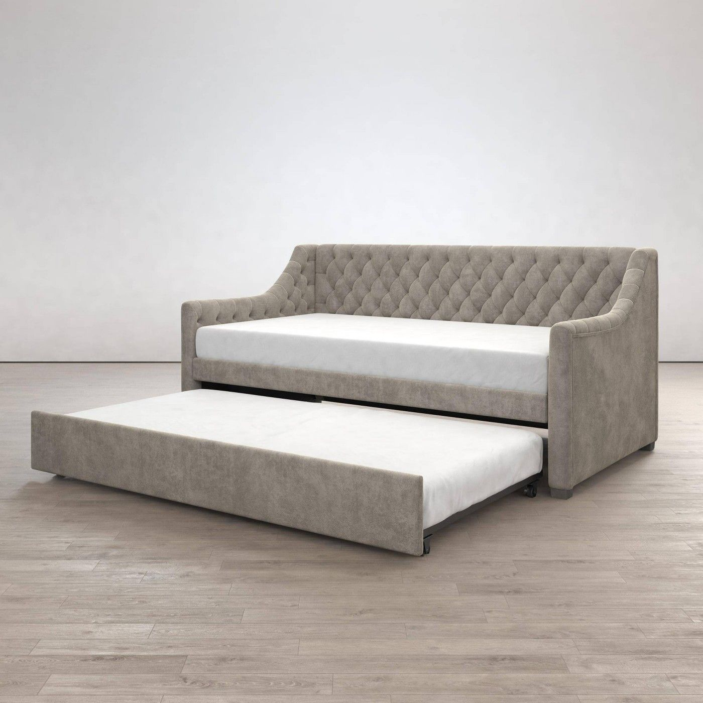 Monarch Hill Ambrosia Upholstered Daybed And Trundle
