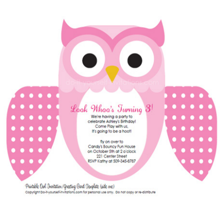 Diy owl invitations google search owl cuteness pinterest owl diy owl invitations google search filmwisefo Choice Image