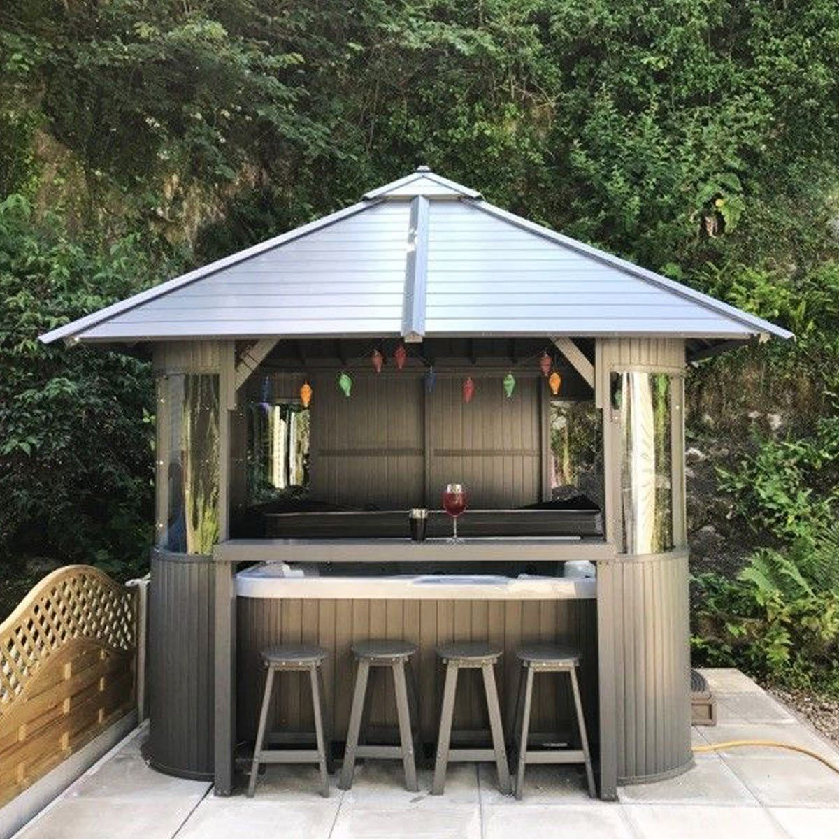 Superior Spas Marley Hot Tub Gazebo In 2 Colours Costco Uk With