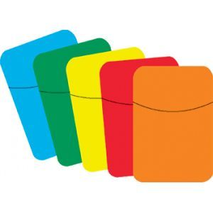LITTLE POCKETS PRIMARY COLORS  -