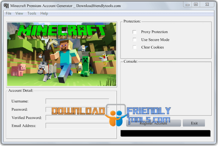 how to make a minecraft premium account