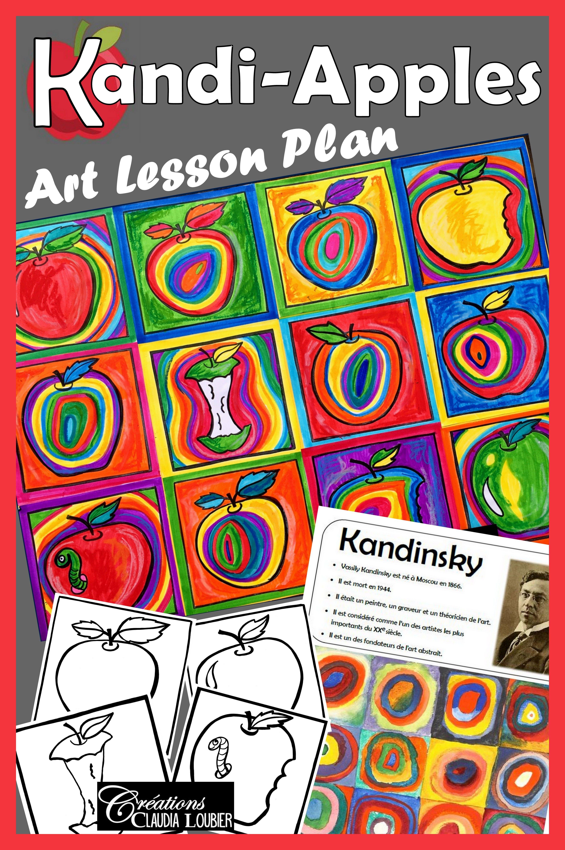 Kandi Apples In The Style Of Kandinsky