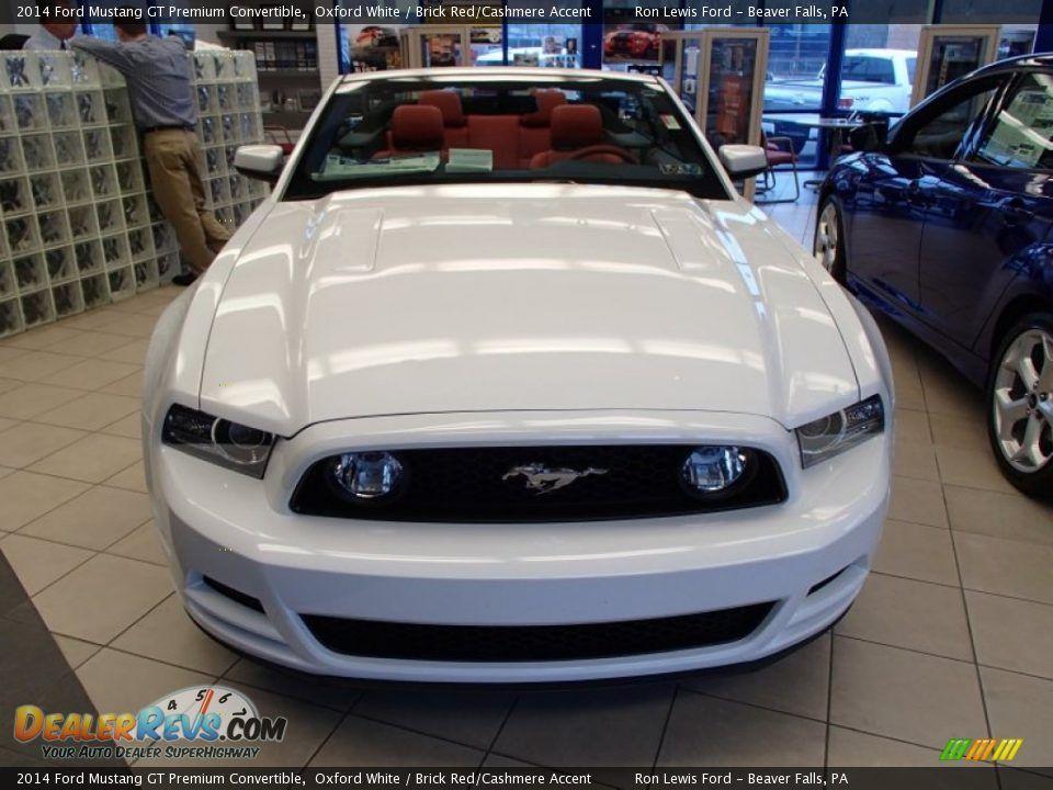 Mustang 2014 Convertible White