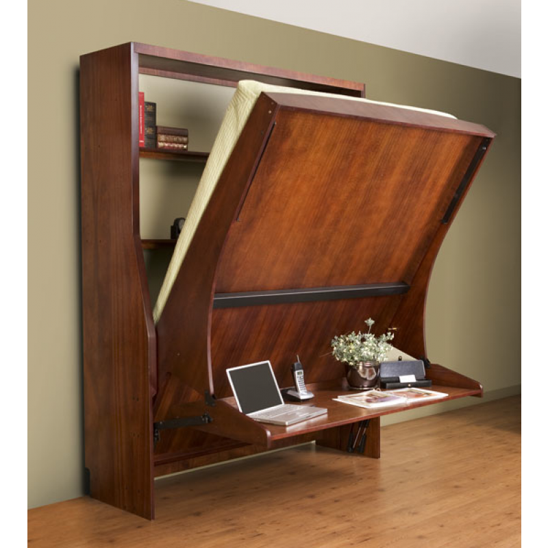 Office HiddenBed Majestic Vertical Queen DIY Mechanism