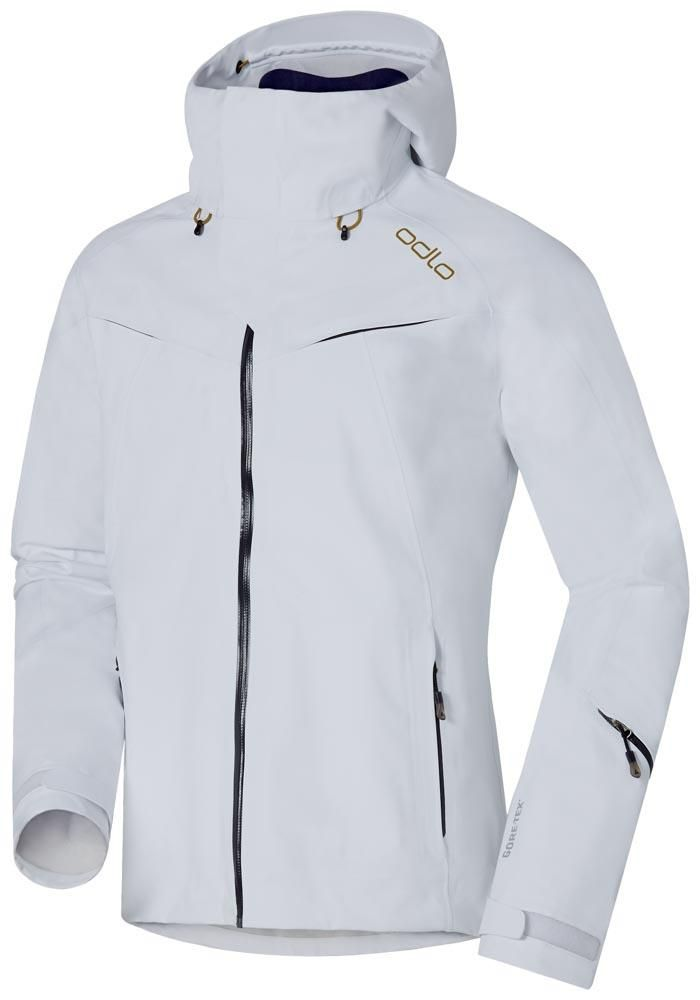 Geographical Norway Women's Softshell Functional Outdoor Rain Sport Jacket White Medium