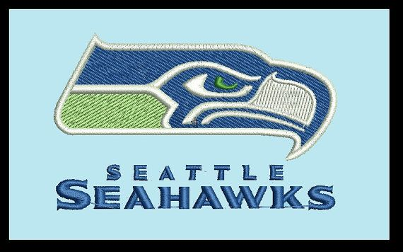 Seattle Seahawks Embroidery Designs 4x4 Instant Download Football