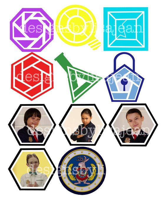 23 Odd Squad Cupcake Toppers By Designsbylisajean On Etsy Party